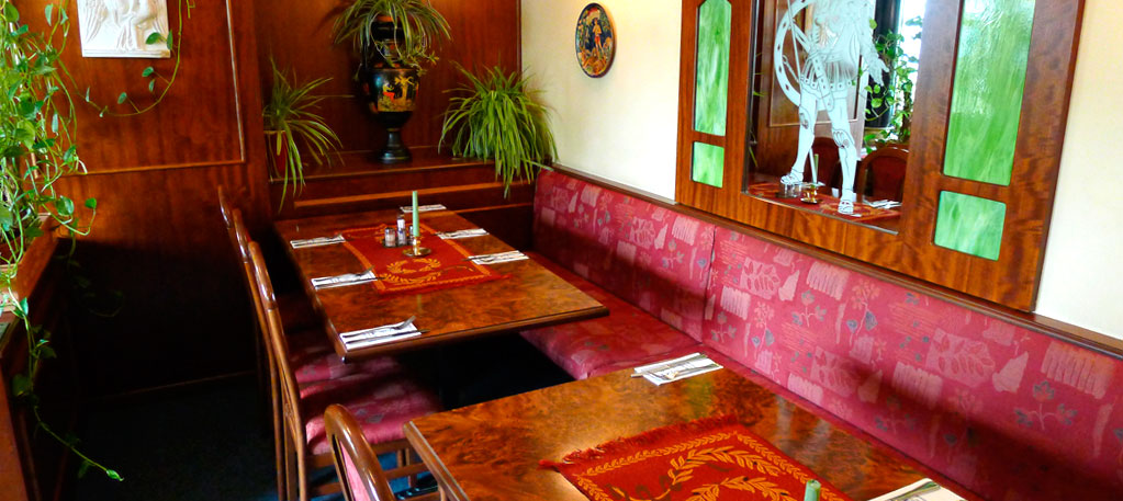 restaurant auf boden sitzen